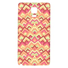Trendy Chic Modern Chevron Pattern Galaxy Note 4 Back Case