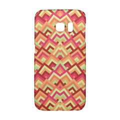 Trendy Chic Modern Chevron Pattern Galaxy S6 Edge