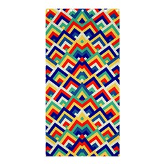 Trendy Chic Modern Chevron Pattern Shower Curtain 36  x 72  (Stall)