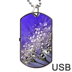 Dandelion 2015 0705 Dog Tag USB Flash (One Side)