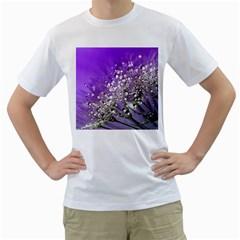 Dandelion 2015 0706 Men s T Shirt (white) (two Sided)