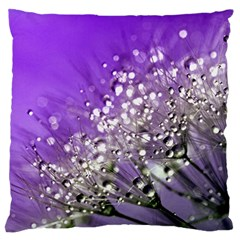 Dandelion 2015 0706 Large Flano Cushion Cases (One Side)
