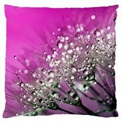 Dandelion 2015 0708 Large Flano Cushion Cases (Two Sides)