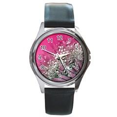 Dandelion 2015 0709 Round Metal Watches