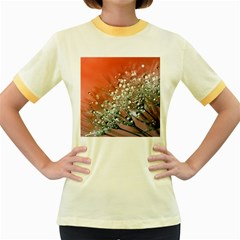 Dandelion 2015 0711 Women s Fitted Ringer T Shirts