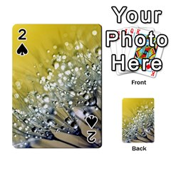 Dandelion 2015 0713 Playing Cards 54 Designs