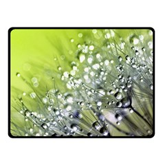Dandelion 2015 0714 Fleece Blanket (small)