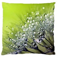 Dandelion 2015 0714 Large Flano Cushion Cases (two Sides)