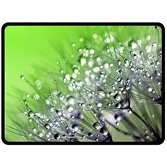 Dandelion 2015 0715 Fleece Blanket (large)