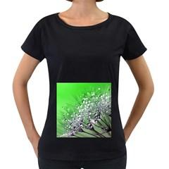 Dandelion 2015 0716 Women s Loose Fit T Shirt (black)