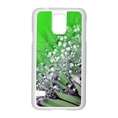Dandelion 2015 0716 Samsung Galaxy S5 Case (white)