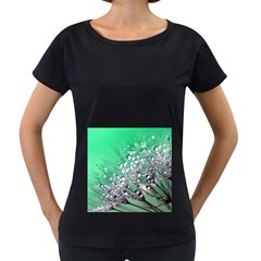 Dandelion 2015 0718 Women s Loose-Fit T-Shirt (Black)