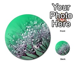 Dandelion 2015 0718 Multi-purpose Cards (Round)