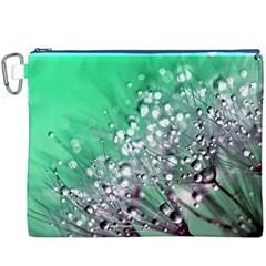 Dandelion 2015 0718 Canvas Cosmetic Bag (xxxl)