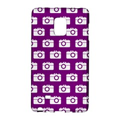 Modern Chic Vector Camera Illustration Pattern Galaxy Note Edge