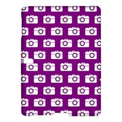 Modern Chic Vector Camera Illustration Pattern Samsung Galaxy Tab S (10.5 ) Hardshell Case