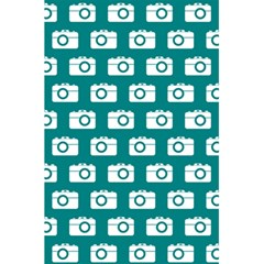 Modern Chic Vector Camera Illustration Pattern 5.5  x 8.5  Notebooks