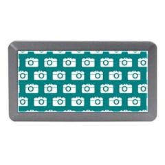 Modern Chic Vector Camera Illustration Pattern Memory Card Reader (Mini)
