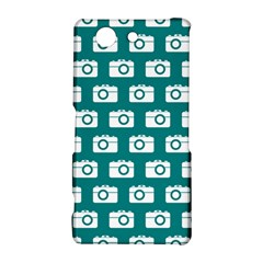 Modern Chic Vector Camera Illustration Pattern Sony Xperia Z3 Compact