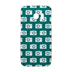 Modern Chic Vector Camera Illustration Pattern Galaxy S6 Edge