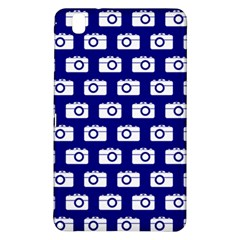Modern Chic Vector Camera Illustration Pattern Samsung Galaxy Tab Pro 8 4 Hardshell Case