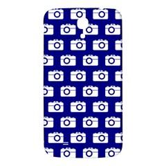 Modern Chic Vector Camera Illustration Pattern Samsung Galaxy Mega I9200 Hardshell Back Case