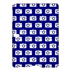 Modern Chic Vector Camera Illustration Pattern Samsung Galaxy Tab S (10.5 ) Hardshell Case