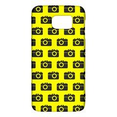 Modern Chic Vector Camera Illustration Pattern Galaxy S6