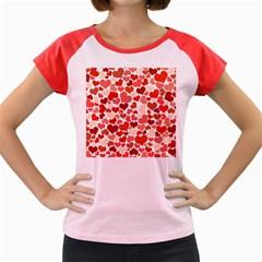 Heart 2014 0901 Women s Cap Sleeve T Shirt