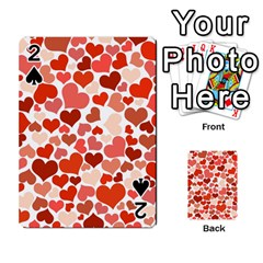 Heart 2014 0901 Playing Cards 54 Designs