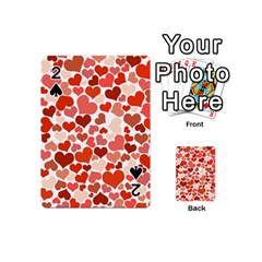 Heart 2014 0901 Playing Cards 54 (Mini)