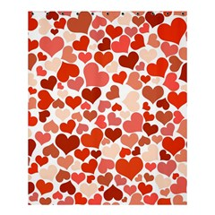 Heart 2014 0901 Shower Curtain 60  x 72  (Medium)