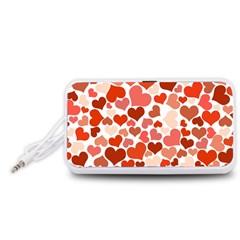 Heart 2014 0901 Portable Speaker (White)