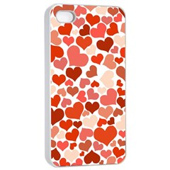 Heart 2014 0901 Apple Iphone 4/4s Seamless Case (white)