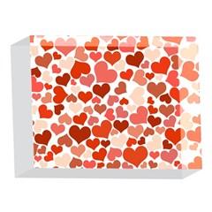 Heart 2014 0901 5 x 7  Acrylic Photo Blocks