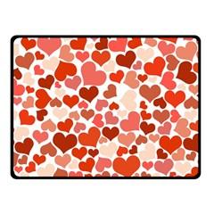 Heart 2014 0901 Double Sided Fleece Blanket (Small)