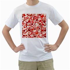 Heart 2014 0901 Men s T Shirt (white)