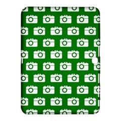 Modern Chic Vector Camera Illustration Pattern Samsung Galaxy Tab 4 (10.1 ) Hardshell Case