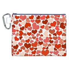 Heart 2014 0901 Canvas Cosmetic Bag (xxl)