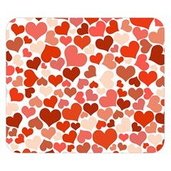 Heart 2014 0901 Double Sided Flano Blanket (small)