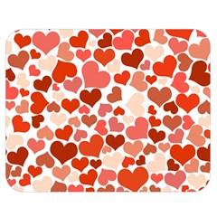 Heart 2014 0901 Double Sided Flano Blanket (medium)