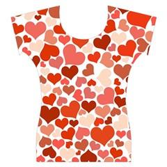 Heart 2014 0901 Women s Cap Sleeve Top