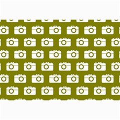 Modern Chic Vector Camera Illustration Pattern Collage 12  x 18