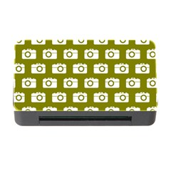 Modern Chic Vector Camera Illustration Pattern Memory Card Reader with CF