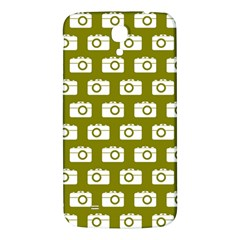 Modern Chic Vector Camera Illustration Pattern Samsung Galaxy Mega I9200 Hardshell Back Case