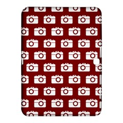 Modern Chic Vector Camera Illustration Pattern Samsung Galaxy Tab 4 (10.1 ) Hardshell Case