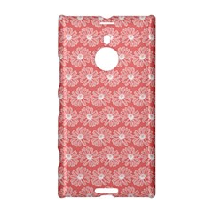 Coral Pink Gerbera Daisy Vector Tile Pattern Nokia Lumia 1520
