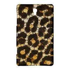 Brown Cheetah Abstract Pattern  Samsung Galaxy Tab S (8.4 ) Hardshell Case