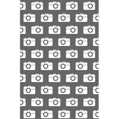 Modern Chic Vector Camera Illustration Pattern 5 5  X 8 5  Notebooks