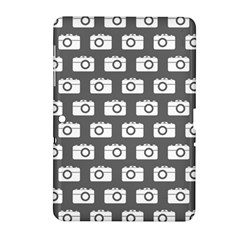 Modern Chic Vector Camera Illustration Pattern Samsung Galaxy Tab 2 (10 1 ) P5100 Hardshell Case